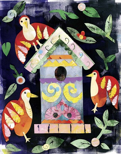 Birdfeeder 2 Poster by Summer Tali Hilty for $56.25 CAD