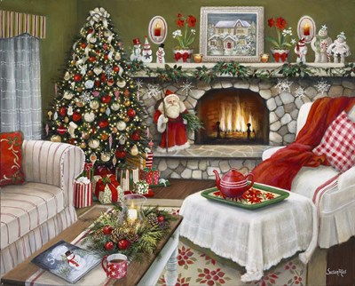Celebrating Christmas Poster by Susan Rios for $42.50 CAD