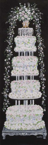 Wedding Cake Poster by Susan Rios for $41.25 CAD