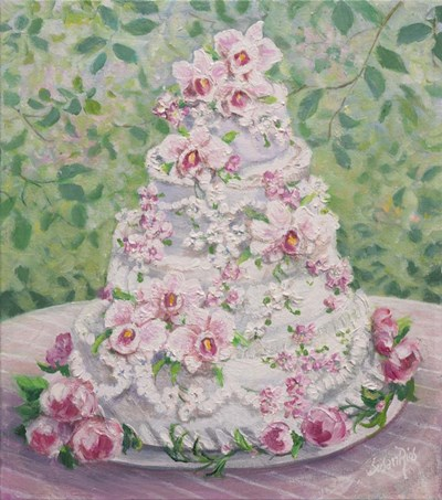 Orchid Cake Poster by Susan Rios for $37.50 CAD