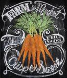 Chalkboard Carrots
