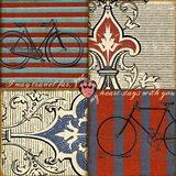 Bicycle Damask
