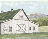 Field Barn in Spring