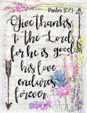 Wood Psalm I