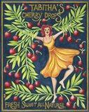Food Labels Cherry Drops