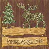 Adirondack Pining Moose Camp AP