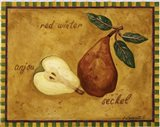 Pear Red Winter Anjou Seckel