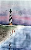 Cape Hatteras Watercolor