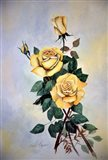 Yellow Roses Sprig