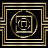 Gold Deco 1