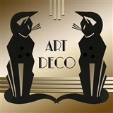 Art Deco Cats 1