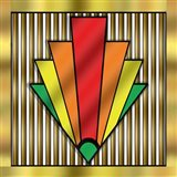 Art Deco Chevron 1