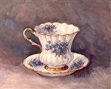 Blue Nosegay Teacup