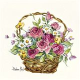 Rose Basket Miniature
