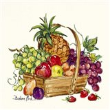 Pineapple and Fruit Basket