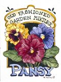 Old Fashioned Pansy-Seed Packet