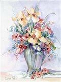 Yellow Iris Bouquet