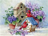 A Cardinal's Home