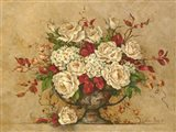 Autumn Rose Urn