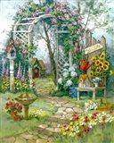 Country Garden Arbor