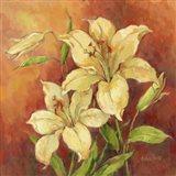 Crimson Lilies II