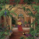 Columbian Fruit Woman