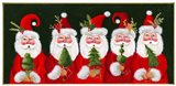 Five Santas