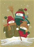 Carolling Snowmen