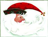 Crescent Santa