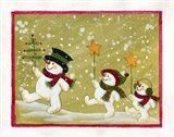 Marching Snowmen