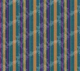 Scroll Stripe Teal