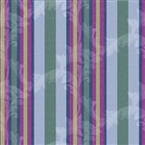 Scroll Stripe Periwinkle