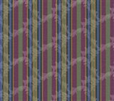Scroll Stripe Plum