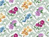 Twiggy Scroll Floral Pastel