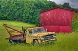 Truck in Weeds