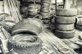 Old Tires BW
