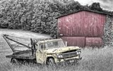 Yellow Truck BW