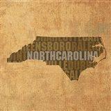 North Carolina State Words