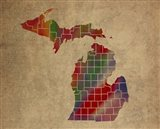 MI Colorful Counties
