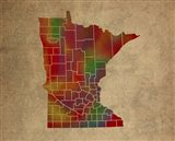MN Colorful Counties