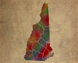 NH Colorful Counties