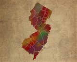NJ Colorful Counties