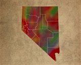 NV Colorful Counties