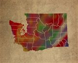 WA Colorful Counties