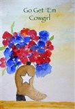 Get 'Em Cowgirl card