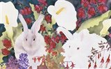 Bunnies with Callas