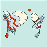 Two Little Love Fish