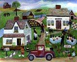 Country Folk Art Tag Sale