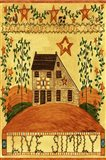 Live Simply Folk Art Garden Flag