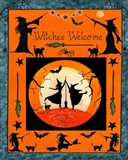 Witches Welcome Flag